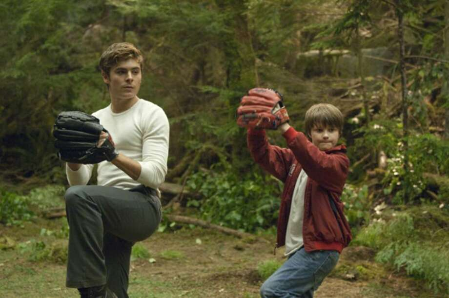 "Zac Efron and Charlie Tahan play brothers who don't let death come between them in ""Charlie St. Cloud."" Photo: Contributed Photo / Connecticut Post"