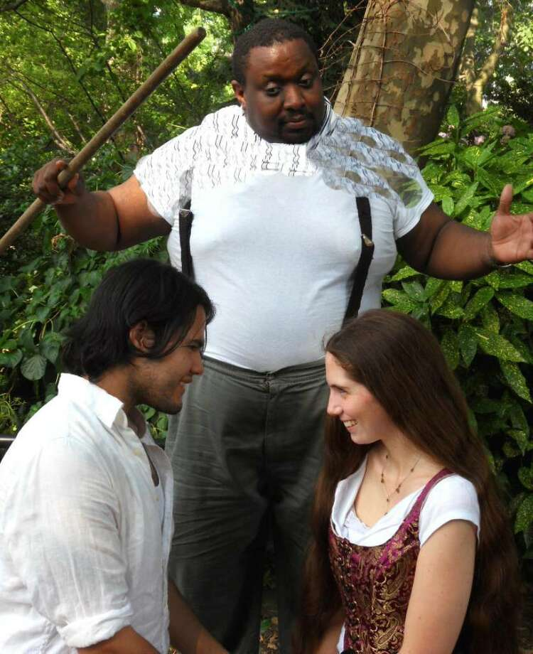"""The powerful and enigmatic Prospero blesses the marriage of his only daughter Miranda in the Hudson Shakespeare production of """"The Tempest"""" that will be presented in Stratford on Aug. 14. Photo: Contributed Photo / Connecticut Post"""