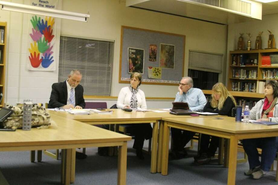 Members of the Kaleva Norman Dickson Board of Education heard a report on possible interest in two vacant school buildings at Monday's meeting.