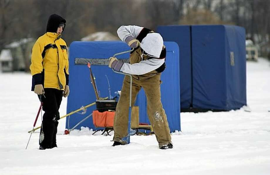 The Michigan Department of Natural Resources reminds anglers that mandatory ice shanty removal dates are approaching. DNR conservation officers also encourage individuals venturing onto the ice to use extreme caution as temperatures begin to rise in the spring.