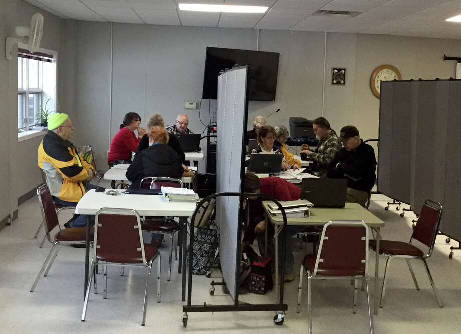 The senior center offers free tax preparation to qualifying seniors in Manistee County, thanks to the tireless efforts of our tax preparing volunteers. (Courtesy Photo)