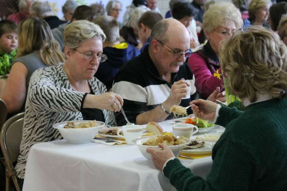 Trinity Lutheran Church will be holding their annual Roast Pork Dinner and Sauerkraut Supper from 5 to 7 p.m. on March 10. The funds from the dinner benefit the Trinity Lutheran School and the public is invited to come and enjoy the dinner and silent auction.