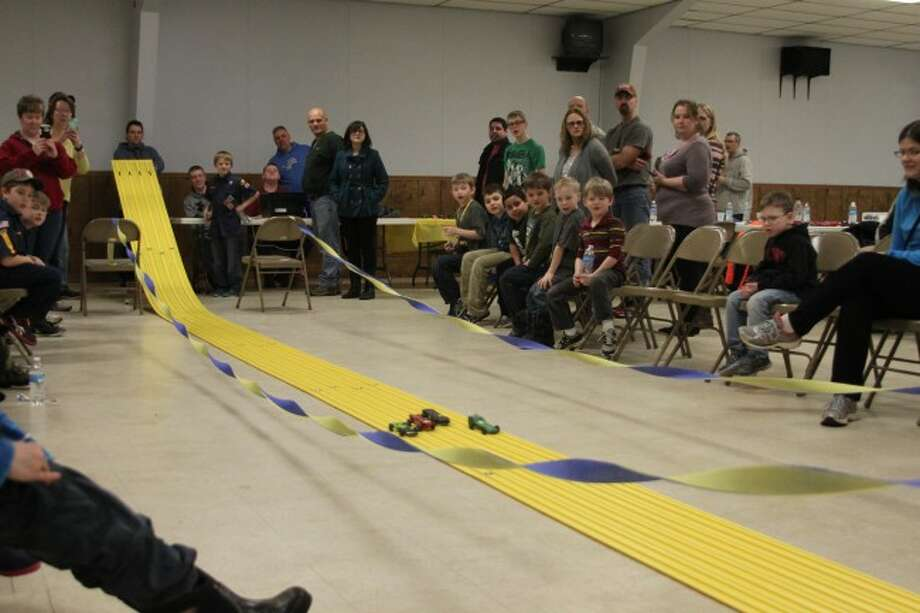 Cub Scouts from Pack 269 held their Pindwood Derby on Saturday at the VFW Post No. 4499.