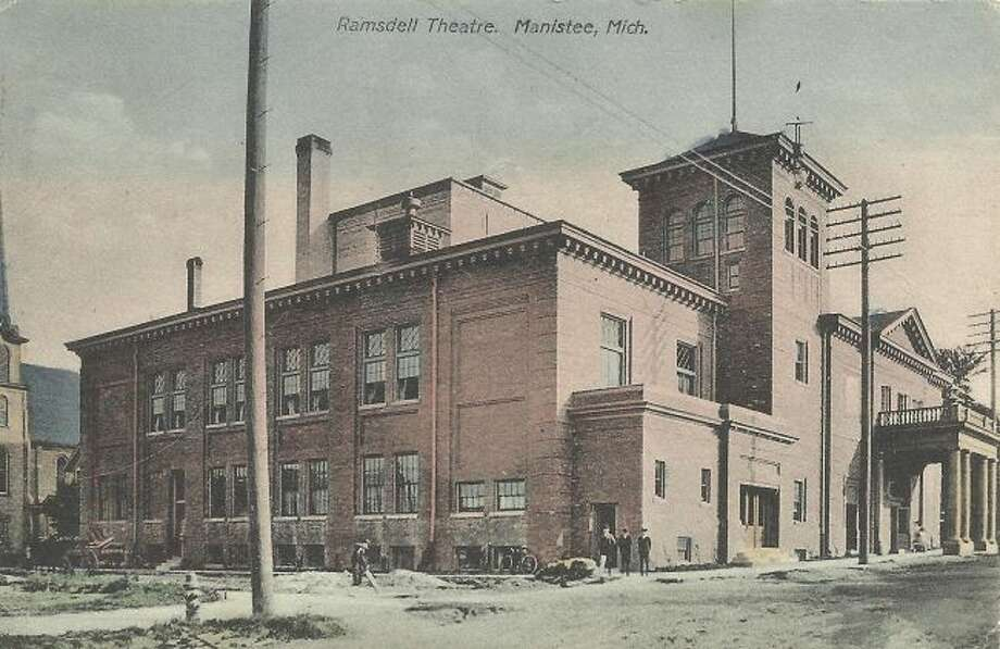 The Ramsdell Theatre building looked in the 1920s just as it does today.