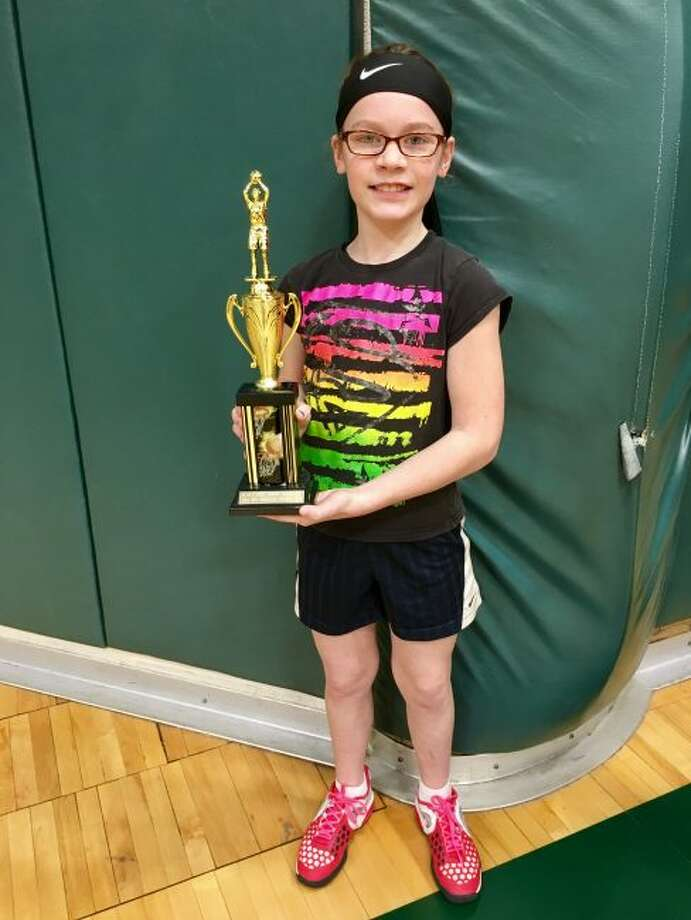 Brenna Johnson participated in the regional Knights of Columbus hoop shoot held in Grayling. There she took first place. She will now advance to the state competition in March. Brenna is a fifth grader at Manistee Catholic Central.