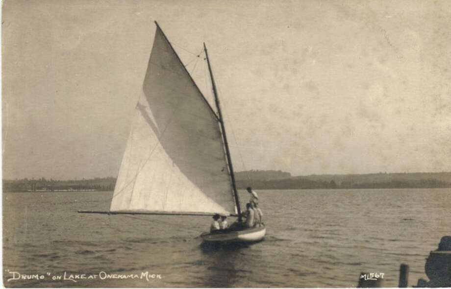 Portage Lake has been a popular sailing place in the summer months since the early 1900s.