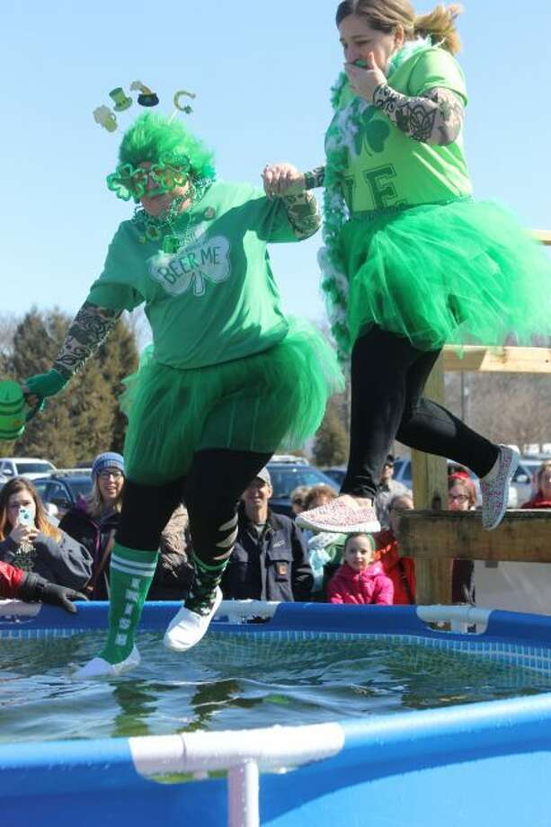 The first-ever Manistee Polar Plunge event in 2018 was a huge success. This year, organizers are already expecting a great turnout. (News Advocate File Photo)