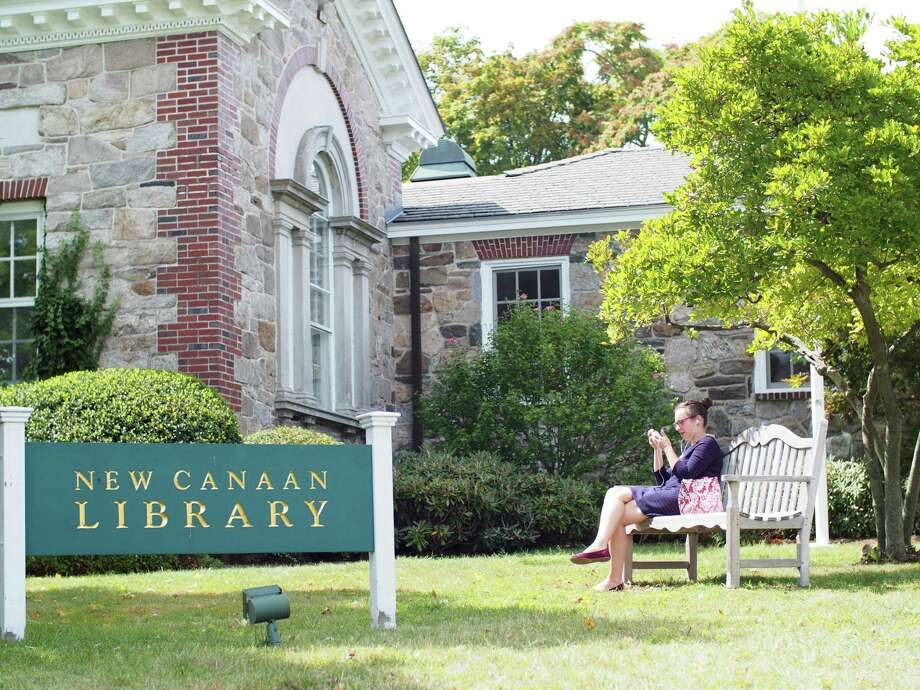 The New Canaan Library Photo: Aaron G. Marsh /