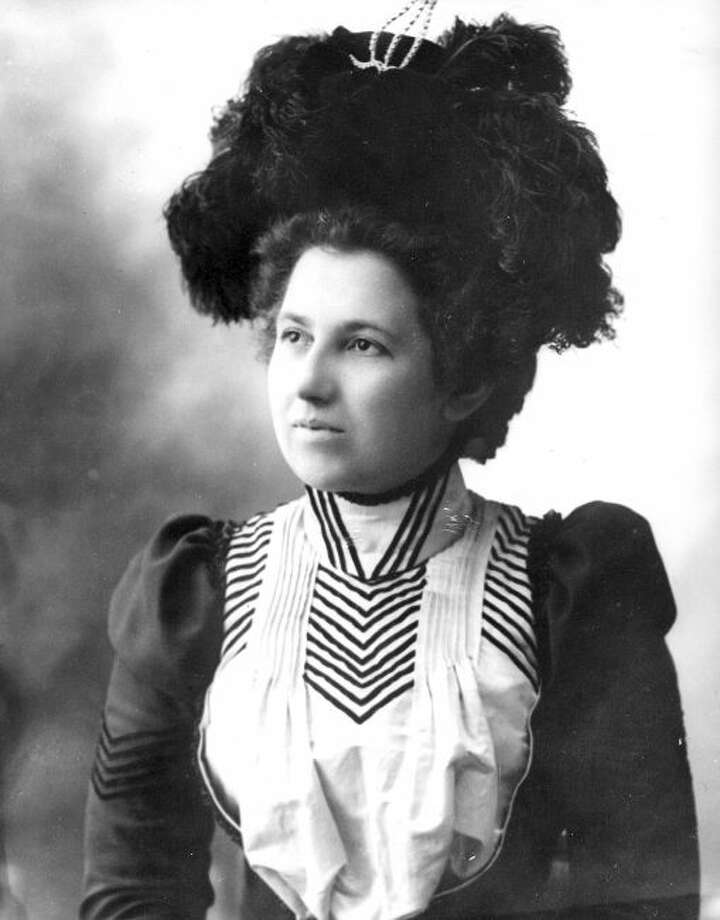 The above photograph of Lydia Magnan was taken by local photographer Jacob Hanselman in 1898 and is cataloged as photo #33 in the Costume Portraits Collection - Album #1 at the museum.