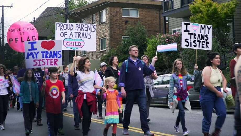 "In the film ""The Most Dangerous Year"" documentary filmmaker Vlada Knowlton captured the ensuing civil rights battle from the perspective of a small group of embattled parents in Washington state as they banded together to fight a deluge of proposed laws that would strip away the rights of their young transgender children. (Courtesy photo)"