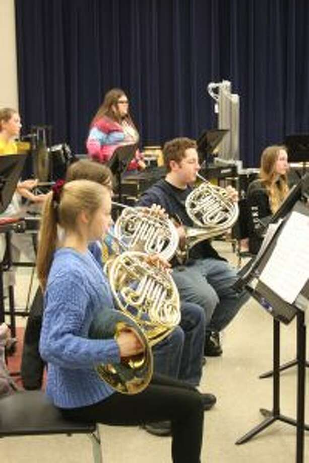 The Manistee Intermediate School District will be hosting the Manistee/Benzie Honors Band concert at 7 p.m. on Tuesday at the Manistee Middle/High School auditorium. Selected members of band students from the two counties school bands will be putting on a concert that evening under the direction of Grand Valley State University band director Barry Martin. (Ken Grabowski/News Advocate)
