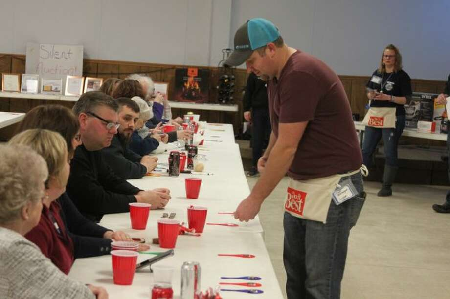 The Filer Township Fire Department Auxiliary hosted a Paddle and Silent Auction on Saturday at the VFW to raise funds for equipment.