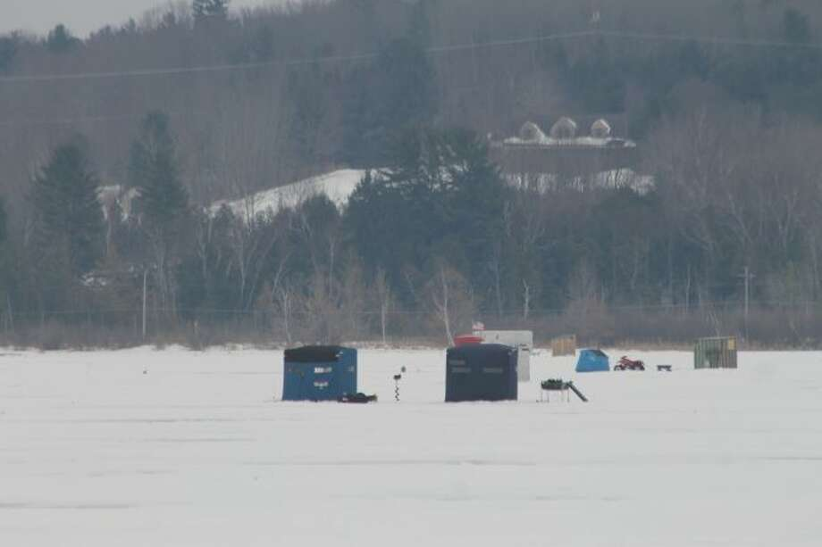 Following Michigan's mandatory removal dates, ice shanties still may be used but must be removed daily from the ice. (News Advocate File photo)