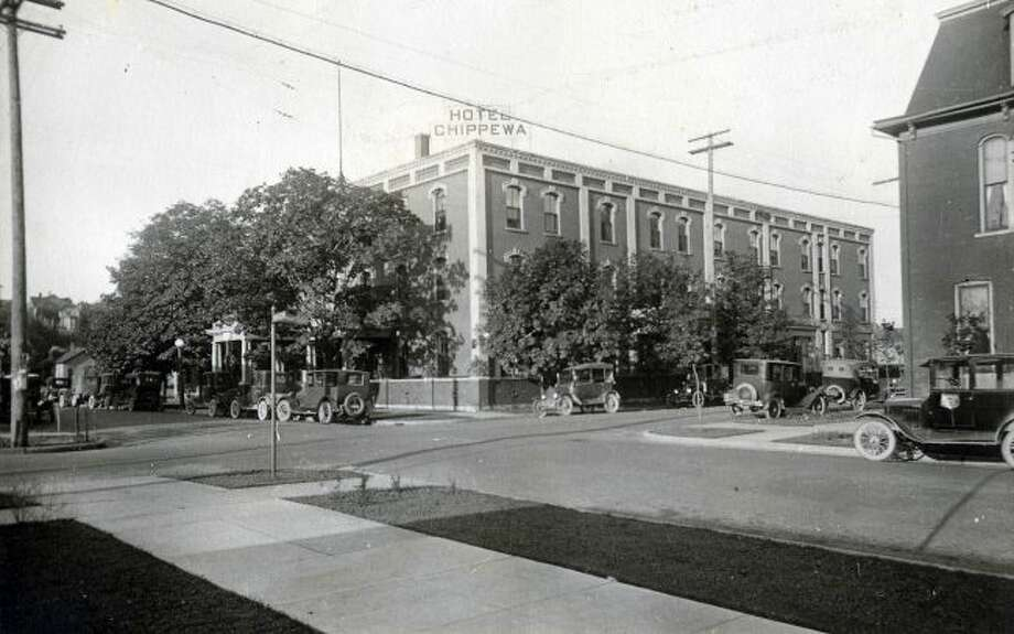The Hotel Chippewa was a popular spot for Manistee residents in the late 1920s.