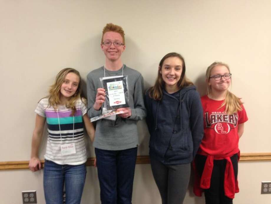 Bear Lake Schools middle school students recently took part in the You Be The Chemist competition sponsored by Dow Chemical. Eighth grade student Hunter Bentley finished in fourth place and he will be an alternate at the state finals.