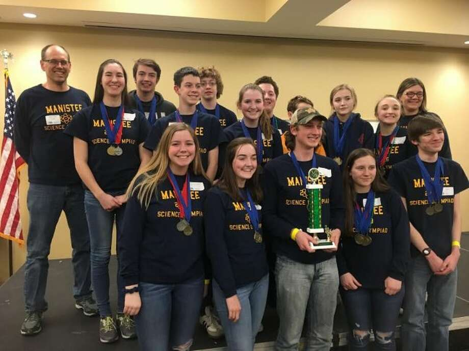The Manistee High School Science Olympiad team won the regional championship on Saturday at Mt. Pleasant. They will now advance to the high school competition on April 28 at Michigan State University to compete against the best teams in the state.