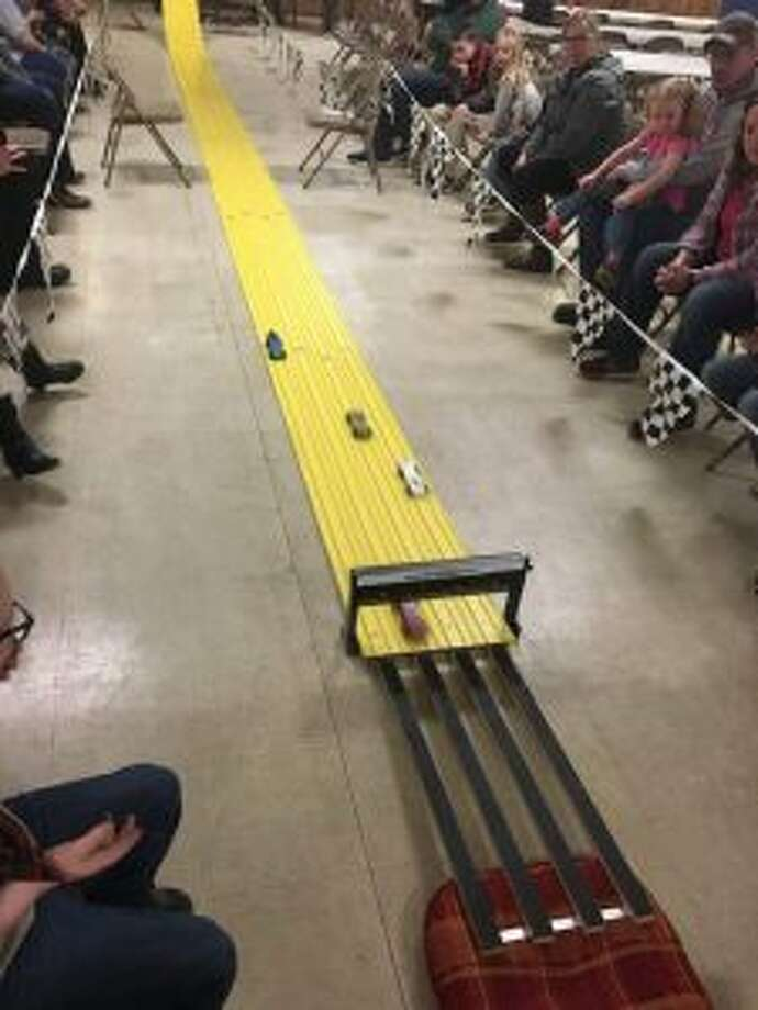 The Manistee Cub Scout Pack 269 held their annual Pinewood Derby this month. (Courtesy Photo)