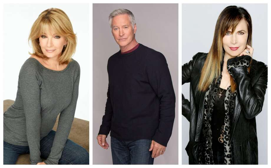 "Memorial City Mall will host a free ""Days of Our Lives"" cast meet and greet 12-4 p.m. Saturday, Aug. 10. Pictured: Deidre Hall (left), Drake Hodgestyn, Lauren Koslow (right) from ""Days of our Lives."" Photo: Courtesy NBC Universal"