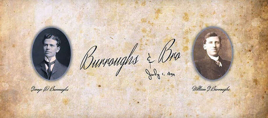 The law firm, Burroughs and Brother, opened July 1, 1894, in Edwardsville. George and William Burroughs hailed from Maryland, near Washington D.C., inspired by the success of their uncle, Benjamin Burroughs. Photo: Photos Courtesy Of Gordon Broom