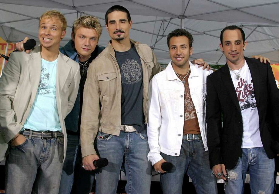 The Backstreet Boys will be a popular karaoke choice for lovers of 1990s music at RidgeCon After Dark. Photo: ALEX OLIVEIRA / REUTERS / X01582
