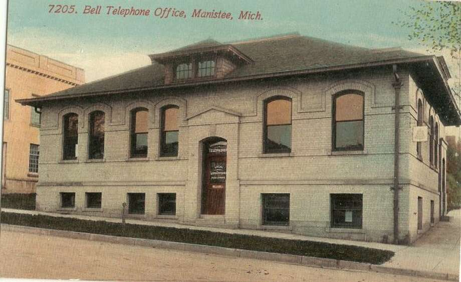 The building that once housed the operators of the Bell Telephone Company in the 1950s and 60s is still located on the corner of Oak and Water streets in Manistee.