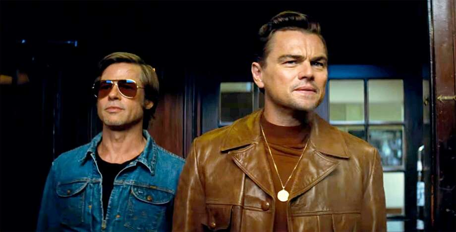"Brad Pitt and Leonardo DiCaprio star in ""Once Upon a Time...In Hollywood."" Photo: Sony Pictures / Contributed Photo"