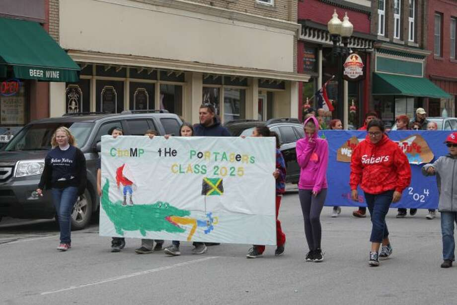 The MCC class of 2025 shows its pride school pride with this poster in Friday's Homecoming Parade.