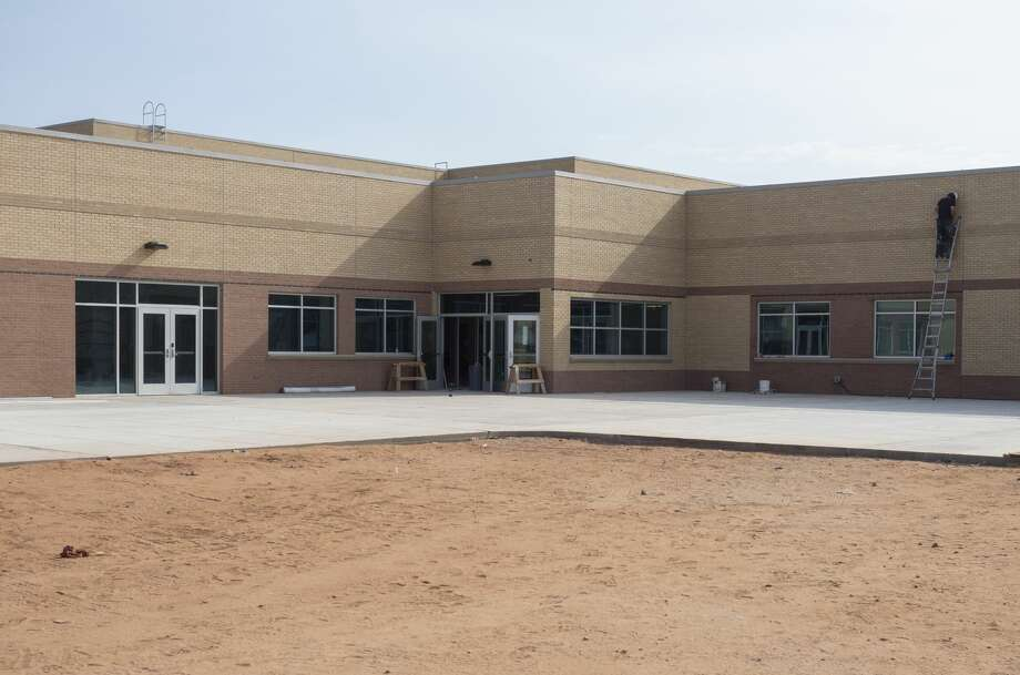 Work continues 07/30/19 on the expansion of Greenwood Intermediate School. Tim Fischer/Reporter-Telegram Photo: Tim Fischer/Midland Reporter-Telegram