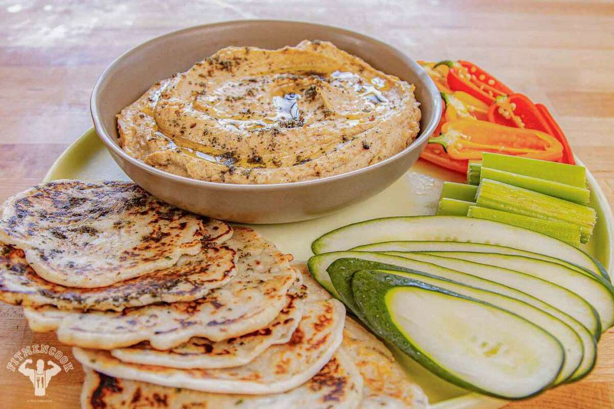Low-carb roasted cauliflower hummus Kevin Curry, a Dallas native, published