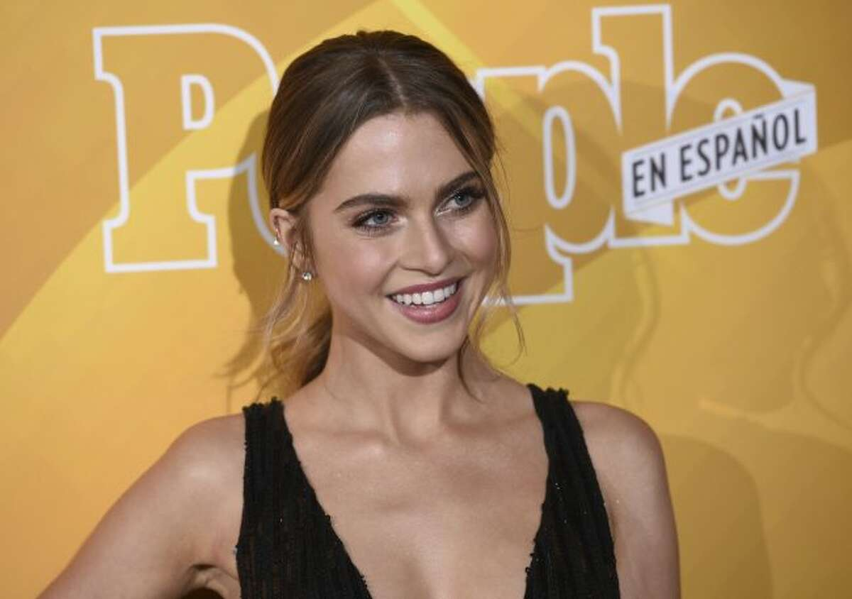 """Anne Winters arrives at People en Espanol's """"Most Beautiful"""" party on Thursday, May 23, 2019, at 1 Hotel in West Hollywood, Calif. (Photo by Chris Pizzello/Invision/AP)"""