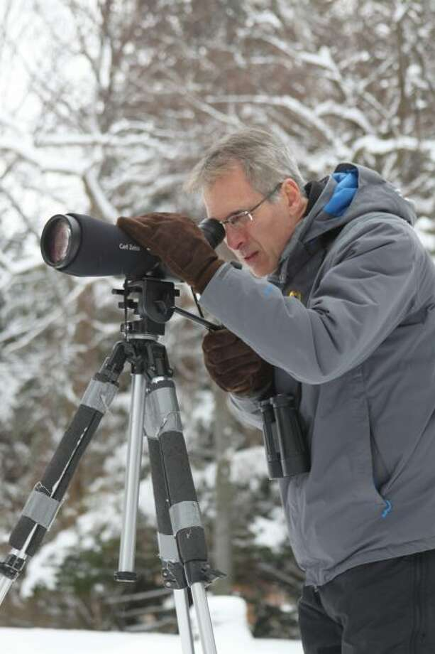 Brian Allen is the local organizer of the National Audubon Society's annual Christmas Bird Count. (News Advocate File Photo)