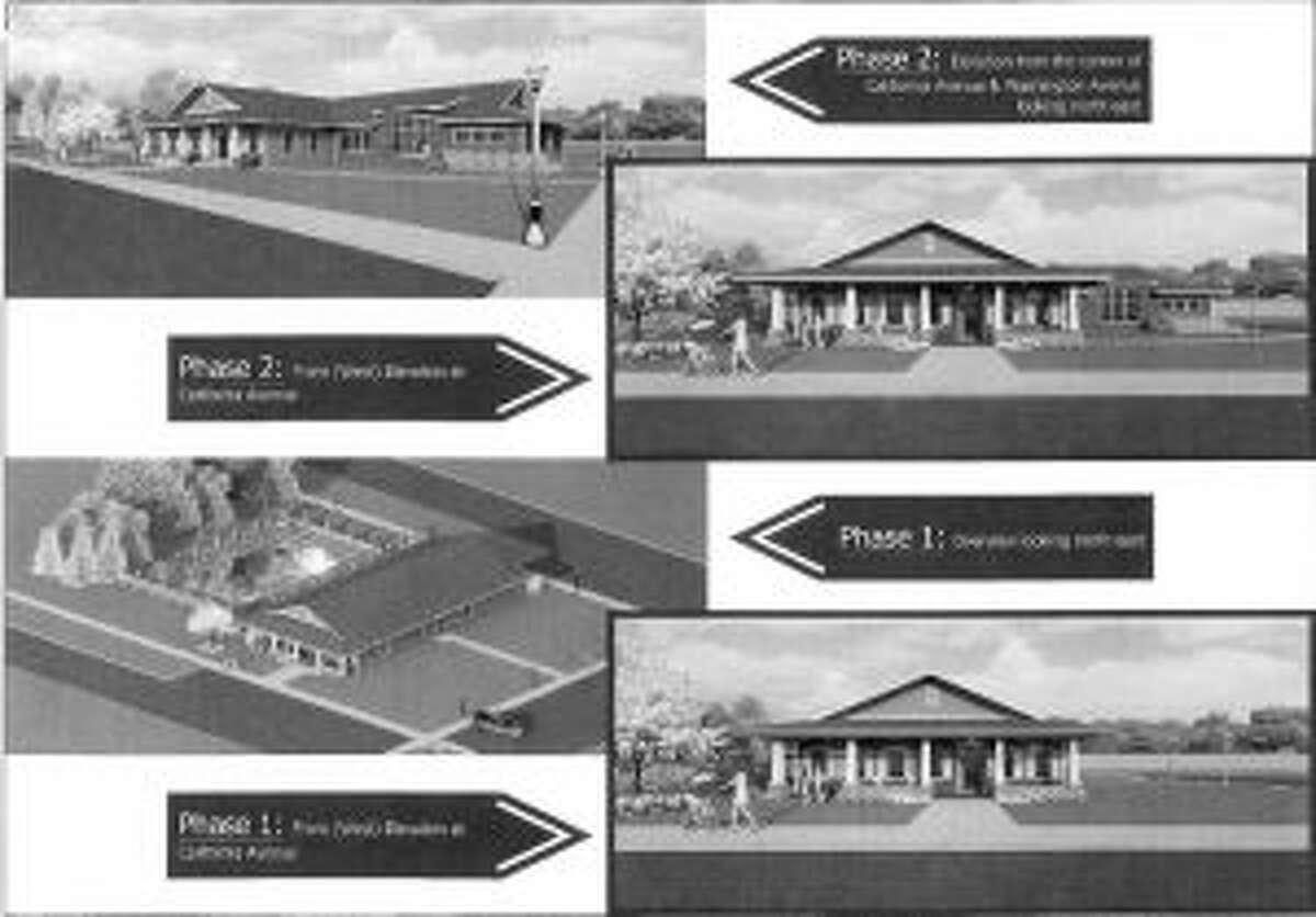 3-D models of the beginning plans for the clubhouse where Eastlake Estates used to sit.