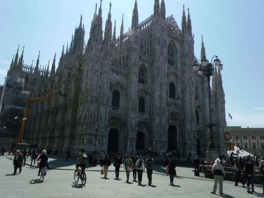 Milan's Duomo (Cathedral) is the centerpiece of the city; it was built between 1386-1810. (Roxanne Rowley/Courtesy photo)