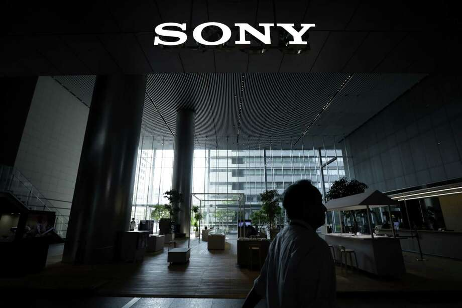 The Sony logo at the company's headquarters in Tokyo on July 30, 2019. Photo: Bloomberg Photo By Kiyoshi Ota. / © 2019 Bloomberg Finance LP