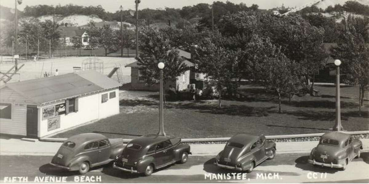 The Fifth Avenue Beach area just across from the current Coast Guard Station looked much different in the late 1930s.