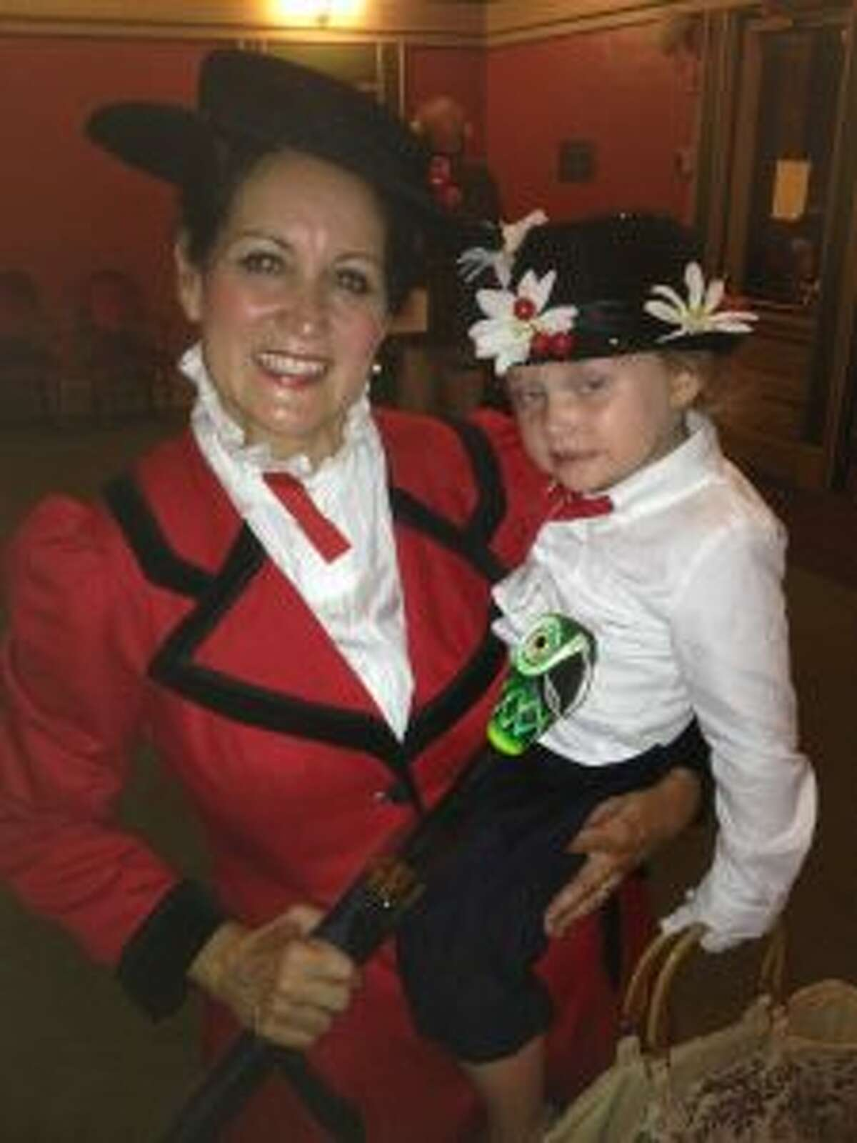 """Photo of Joanie Pointer, who plays Mary Poppins during the Manistee Civic Players' production of """"Mary Poppins"""", which has shows at 7:30 p.m. on Aug. 13 and 14."""