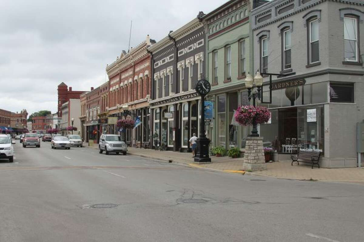 Shown is how the River Street area looking east looks today.