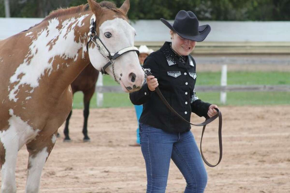 The 4-H Open Horse show drew many participants to the Manistee County Fairgrounds on Sunday.