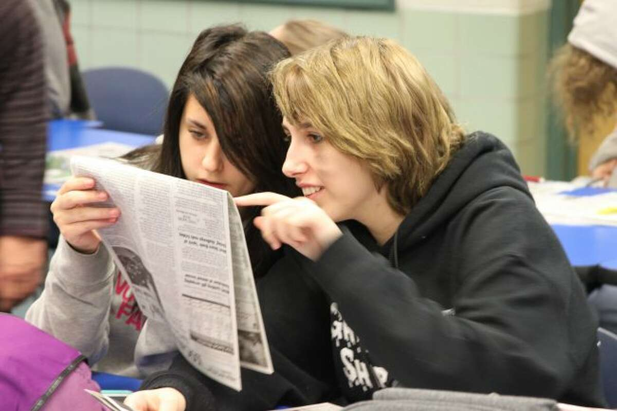 All schools in the Manistee County area take part in the Newspapers in Education program. Students at CASMAN Academy have been active participants in several classrooms including their English studies.