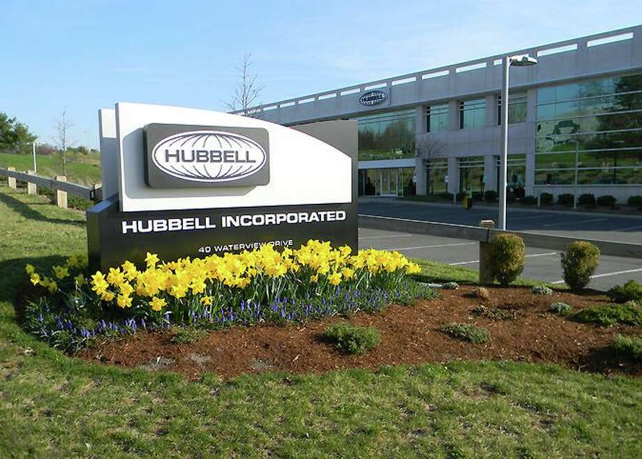 The corporate headquarters of Hubbell Inc. in Shelton. The company was founded in Connecticut in 1888 and was previously based in Orange. Photo: Hubbell Inc. / Contributed Photo