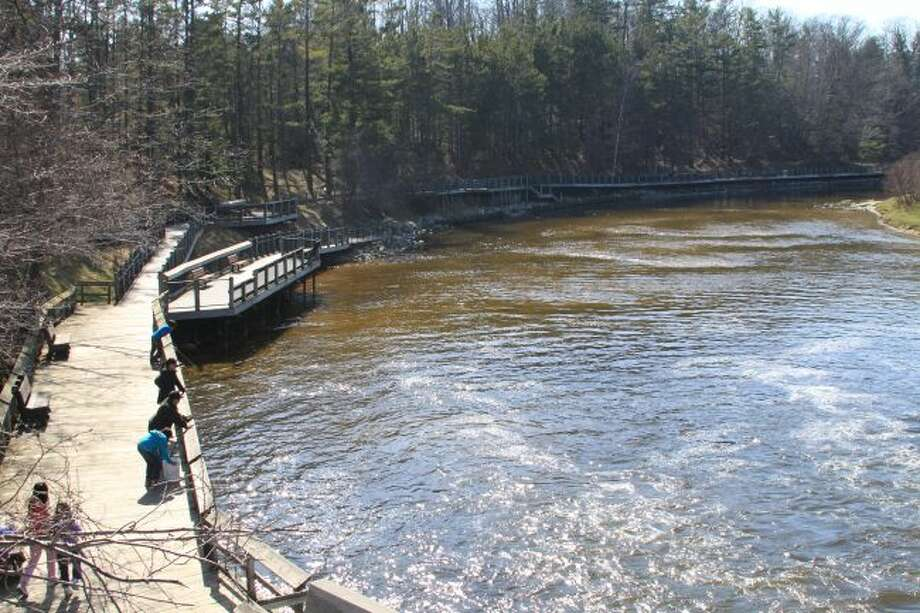 People should be aware that beginning on Monday the Michigan Department of Natural Resources will be lowering the Hamlin Lake to its winter water levels. That will cause an increased water flow below the Hamlin Dam.