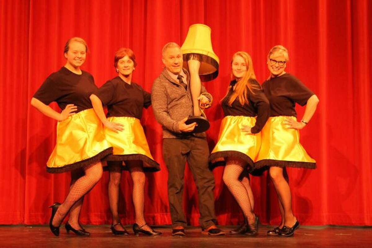 """The Manistee Civic Players' production of """"A Christmas Story"""" opens at 7:30 p.m. on Friday at the Ramsdell Theatre in Manistee. The show will also run at 7:30 p.m. on Saturday; 2 p.m. on Sunday; 7:30 p.m. on Dec. 9 and 10; and at 2 p.m. on Dec. 11."""