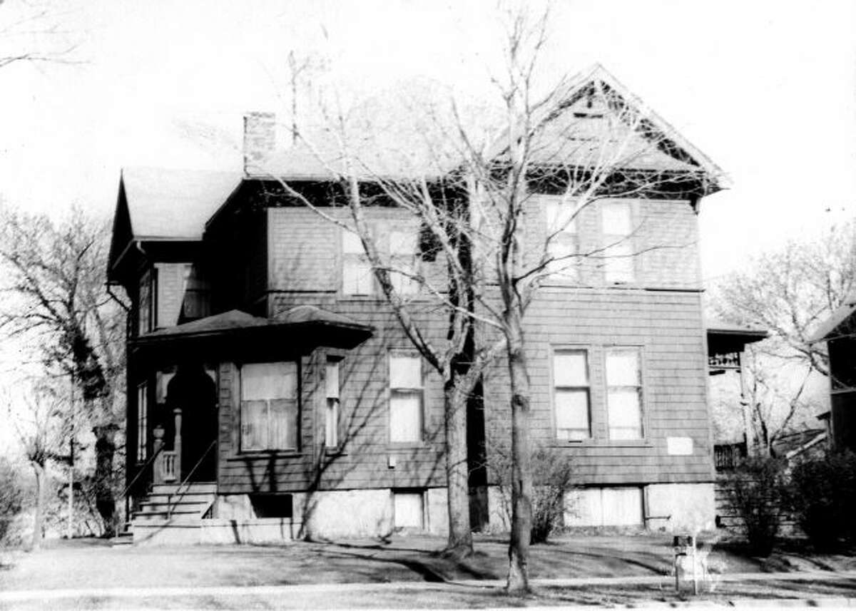 The former home of Thomas Kenny that is located on the corner of First and Sibben Streets is shown in this photograph.
