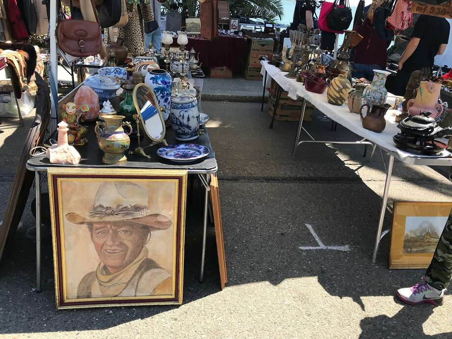 John Wayne is among the things you can find at TreasureFest. Photo: Beth Spotswood