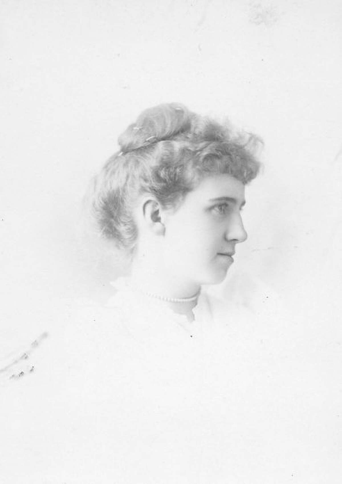 Josephine Muenscher while a student at Manistee High.