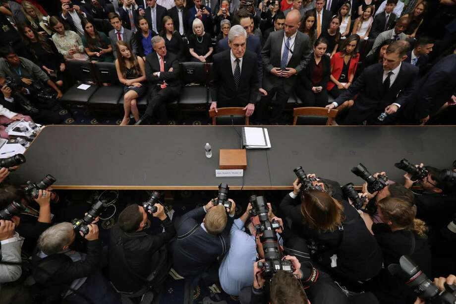 A reader says former special counsel Robert Mueller was simply a showpiece for anti-Trump attorneys and the Mueller Report is no longer credible. Photo: Chip Somodevilla /Getty Images / 2019 Getty Images