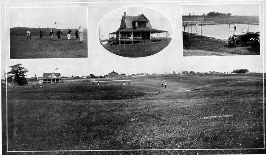 The Manistee Golf and Country Club was a popular destination for golfers in the early 1920s.