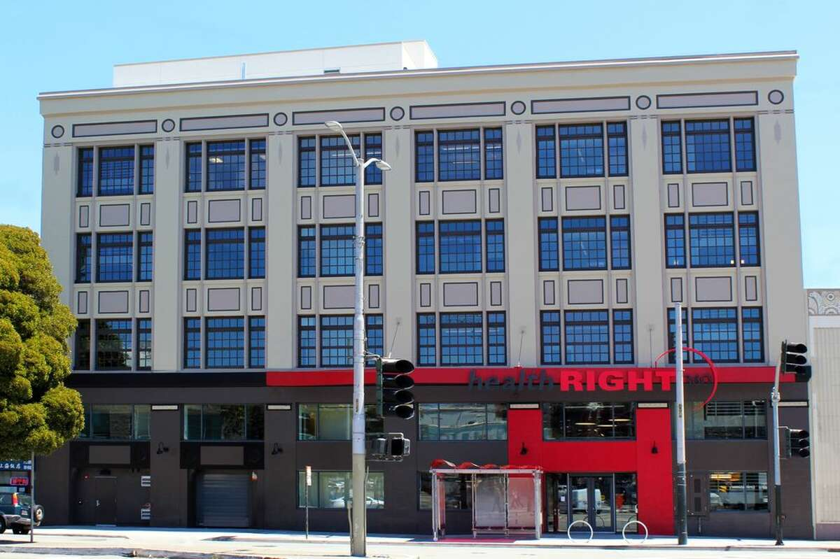 The HealthRIGHT360 Integrated Care Center on 1563 Mission St.