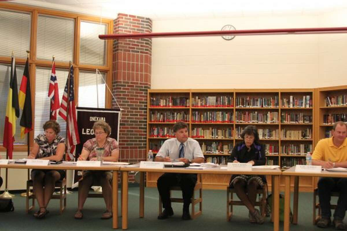 The Onekama Consolidated Schools Board of Education heard about their audit on Monday evening.