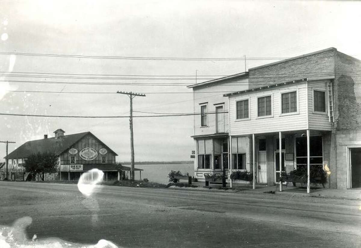 The Village of Bear Lake is shown in this early 1930s photograph.